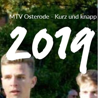 MTV Osterode - kurz und knapp 2019
